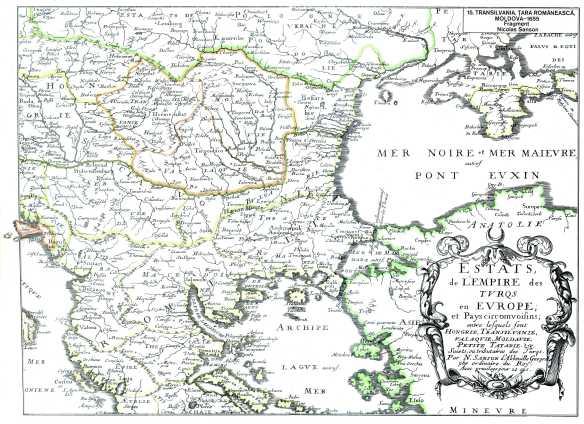 Romania la 1655