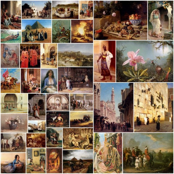 Orientalist Art Painting