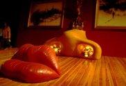dali-installation-The famous surrealist recreates a movie legend