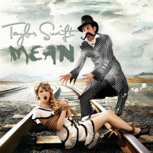 taylor swift mean cover art single
