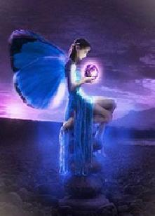 Fluturele albastru
